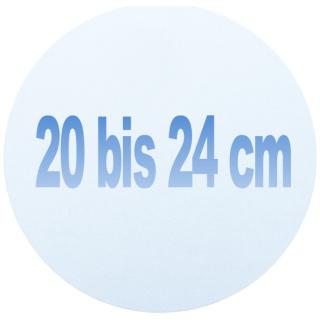 20 bis 24 cm