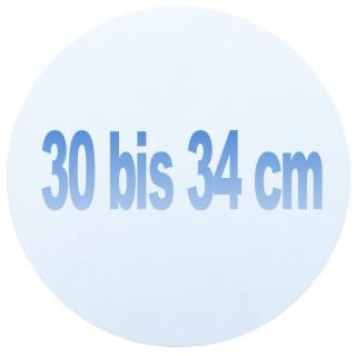 30 bis 34 cm