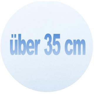 über 35 cm