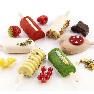 Cakesicles - Kuchen / Eis am Stiel
