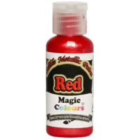 Magic Colours Edible Metallic red - ROT metallic  32 g...
