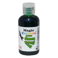 Magic Colours Airbrush Farbe Green GRÜN  55 ml 100 % essbar