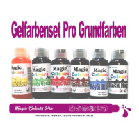 Magic Colours PRO 32 g Gelfarbe Set- Schwarz - Rot -...