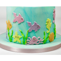 Meerestiere Under the Sea MotifsTappits Set 2teilig -...