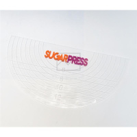 Sugar Press Half Circle Board + Spray im Set - Halbkreis...