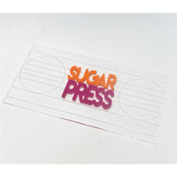 Sugar Press Rectangel  Board + Spray im Set - Rechteck...