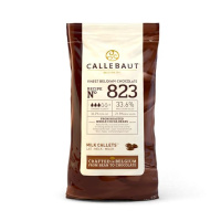 Callebaut Chocolate Milk Callets - 823  - 1 kg  feinste...