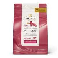 Callebaut Chocolate Ruby Callets - BR1  - 2,5 kg  feinste...