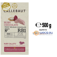 Callebaut Chocolate Ruby Callets - BR1  - 500 g Abfüllung...