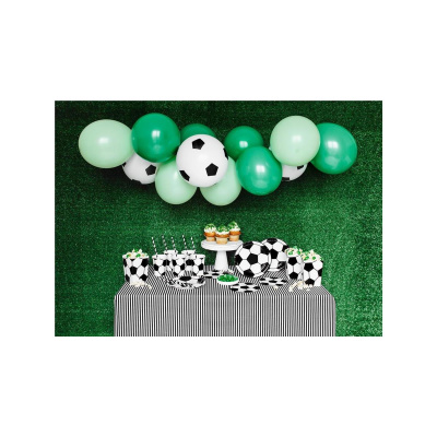 Fußball Party Set - Box of Decorations Football mix 60 teilig in der Deko Box