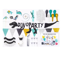 Dinosaurier Party Set - Box of Decorations Dinosaur - 39...
