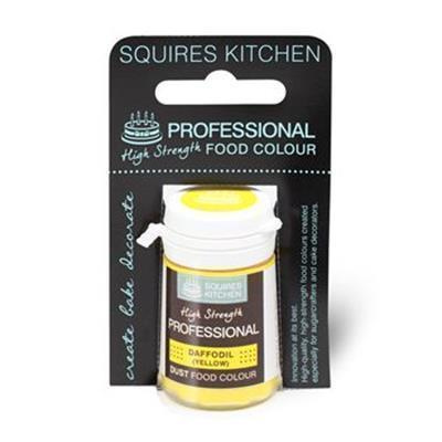 SK Professional Food Colour Dust - Daffodil - Gelb - Narzisse - 4 g wiederverschließbare Dose